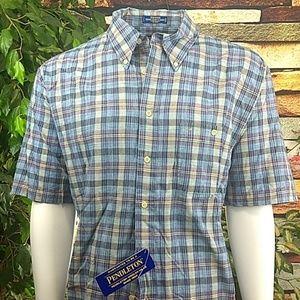 NWT Pendleton XXL Oceanside shirtsleeve shirt
